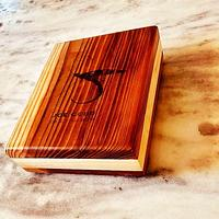 Redwood and maple fly box - Project by Okie Craftsman