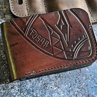 Fubar wallet  - Project by RMKleatherworks