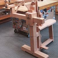 chevalet - Woodworking Project by Dave