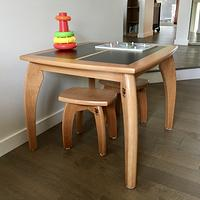 Wee table & stools - Woodworking Project by Narinder Jugdev