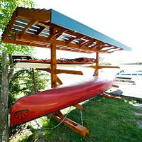 Boat Rack (Finally!) - Woodworking Project by Manitario