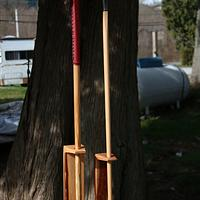 His and Hers Walking Canes - Woodworking Project by Railway Junk Creations