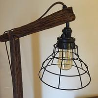 Wagon Tongue Floor Lamp
