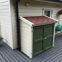 BBQ Grill Storage With Fully Concealed Bling - Woodworking Project by Mike40