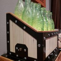 Steampunk Coco-Cola Bottle Lamp - Woodworking Project by Justin