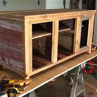 Barnwood TV Stand - Woodworking Project by Boone's Woodshed