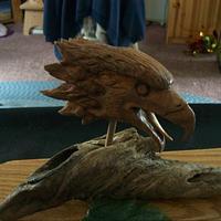 Eagle Head carving