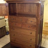 Highboy - Woodworking Project by Dzin