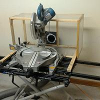 Miter Saw Hood - Project by Michael De Petro