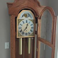 Grandfather Clock from 1994 - Woodworking Project by Tim Dahn