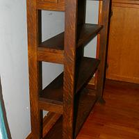 Craftsman Style Book Shelf - Woodworking Project by Michael Ray