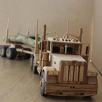 Peterbilt logging truck - Woodworking Project by Dutchy