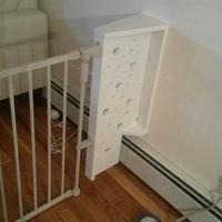 Baby fence wall bracket/extension - Woodworking Project by Brian