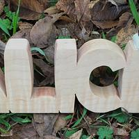 Nameblock - Woodworking Project by RRDesigns