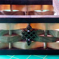Scroll Sawed Basket Weave - Woodworking Project by Celticscroller