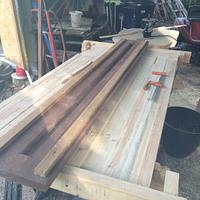 Desk in progress  - Woodworking Project by GreenwoodRuss