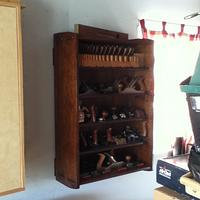 Hand Plane Cabinet - Woodworking Project by 3fingerpat