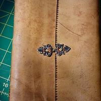Medieval Book Binding - Leatherworking Project by Celticscroller