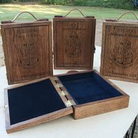 Charge Book Vessel - Woodworking Project by RRDesigns