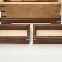 Maple and Walnut Jewelry Box - Woodworking Project by kdc68