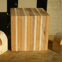 LAMINATED CUBE TURNING