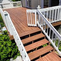 Refinished Deck - Woodworking Project by horstbc