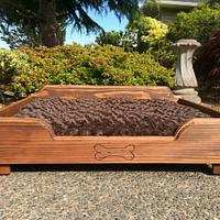 2 medium size dog beds - Woodworking Project by Sheri Noble, woodworking at it's finest!