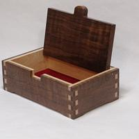 Walnut and Maple Keepsake Boxes - Woodworking Project by kdc68