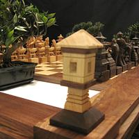 Samurai Chess Table by Jim Arnold - Woodworking Project by JimArnold