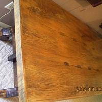 top to previous photo - Woodworking Project by barnwoodcreations
