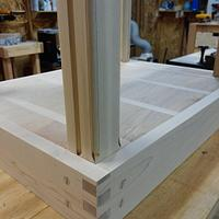 Coffee and end tables for my sons new house - Woodworking Project by Charles44