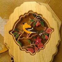 Yellow Finch - Woodworking Project by SYPUCK