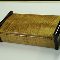 Curved Lid Treasure Box