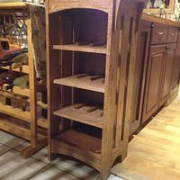 Wine rack - Woodworking Project by firemedic836