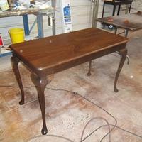 Walnut sofa table - Woodworking Project by woodbutchersc