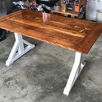 Trestle Table - Woodworking Project by 3fingerpat