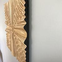Abstract Ripple #5  - Woodworking Project by Roger Gaborski