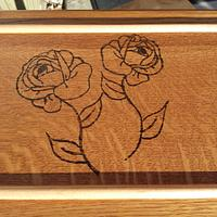 """Jewelry Box """"Burnt Rose"""" - Woodworking Project by Angela Maddock"""