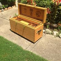 AR-15 rifle chest  - Woodworking Project by Wookie173