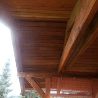 Balcony with roof - Woodworking Project by Michal Bulla