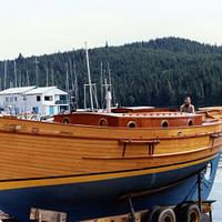 "34 Foot Pinky Ketch ""Smaug"" - Woodworking Project by shipwright"