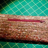 Cork Wallet - Needleworking Project by Celticscroller