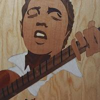 Marquetry portrait - Woodworking Project by Andulino