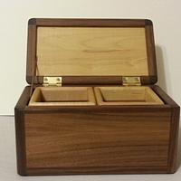 Jewelry or Valet Box? Who knows... - Woodworking Project by David E.