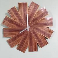 Kingwood Veneer Clock