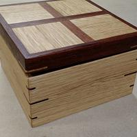 Tea box - Woodworking Project by Brian