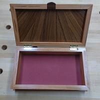 Sunburst Lidded Keepsake Box - Woodworking Project by kdc68