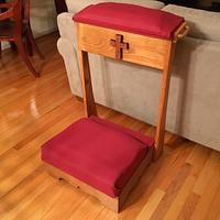 Farmhouse table, bike stand and a prayer kneeler - Woodworking Project by Jack King
