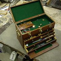 Machinist Tool Box - Woodworking Project by Roger Strautman