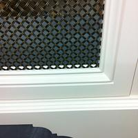 Bow front radiator cover - Woodworking Project by Les Hastings